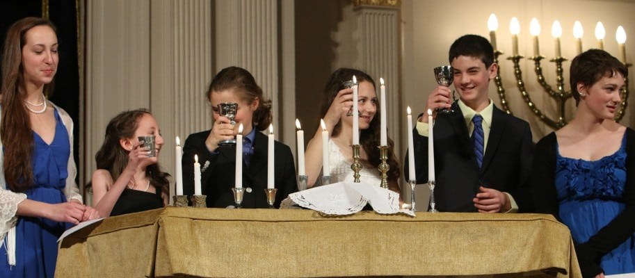 Machar, Bnei Mitzvah at the historic 6th and I Synagogue